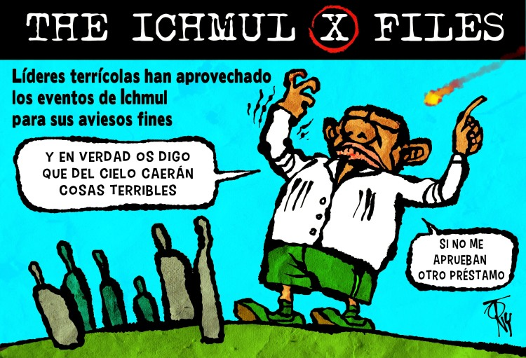 THE ICHMUL X FILES. Expediente 2