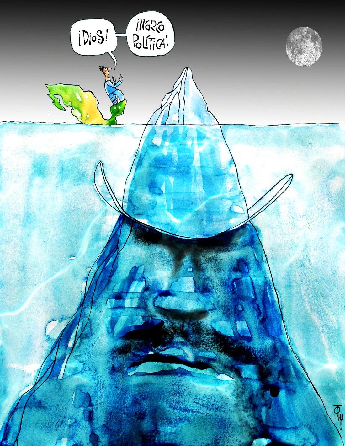 terror por el iceberg
