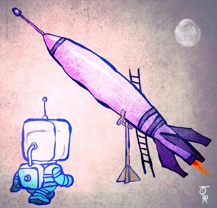 el cohete oportuno