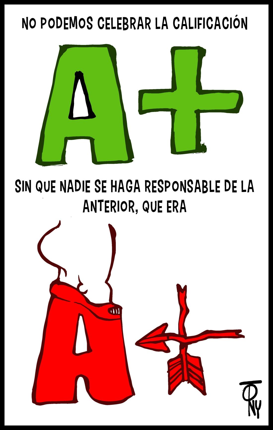 A+ en impunidad