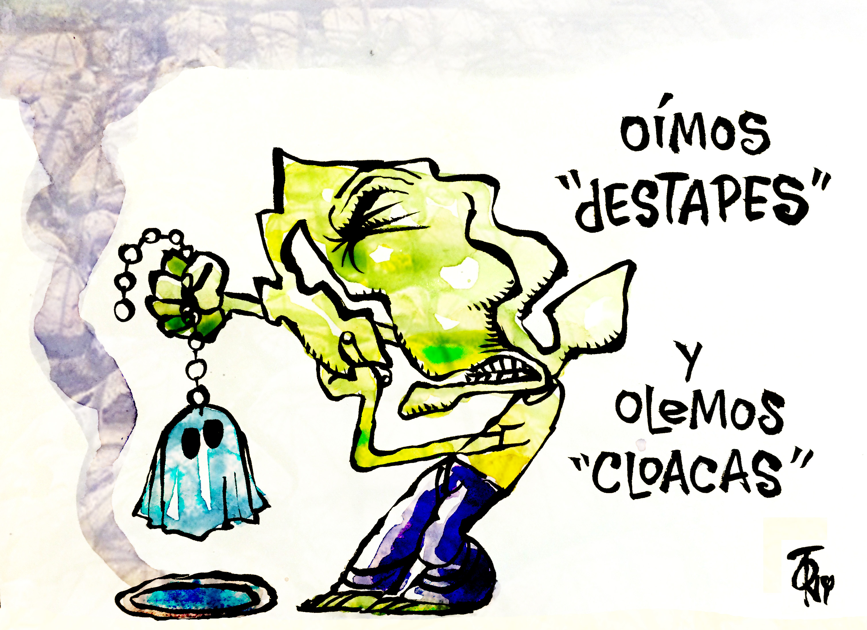 EL TUFO DE LA PRISA