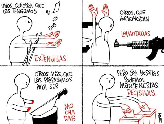 JUEGO DE MANOS